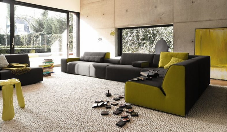 Black Green Sofa Sets by COR
