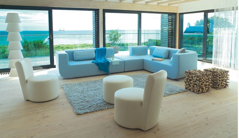 Blue Sofa Sets by COR