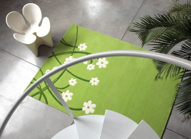 Contemporary Green Rugs from Dhesja