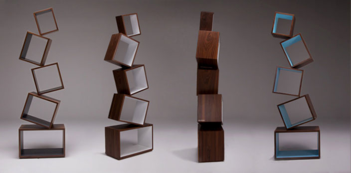 Equilibrium Bookcase Malagana Design All Models