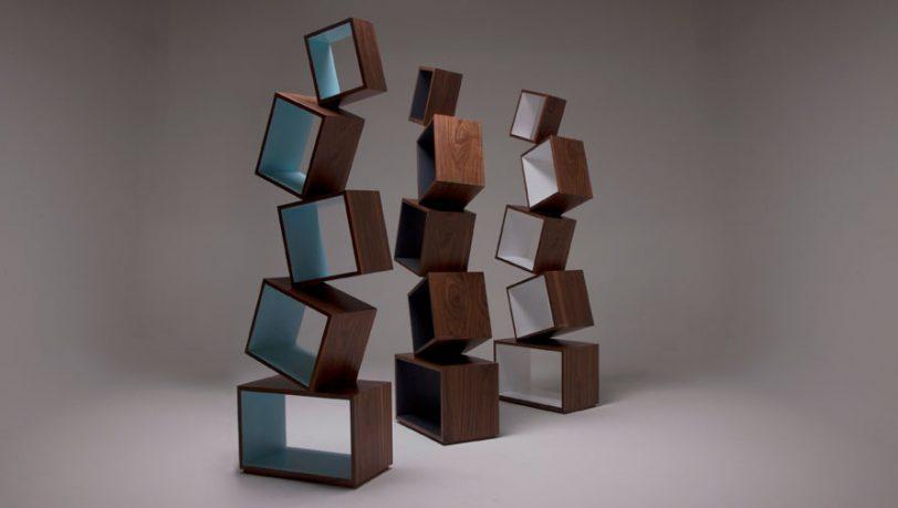 Equilibrium Bookcase Malagana Design Three Models
