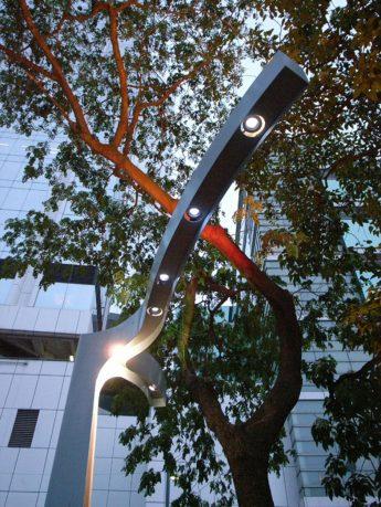Lampposts Crotched Shape Details