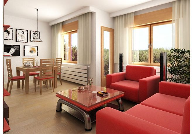 Red Sofa Sets