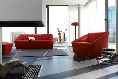 Red Sofa Sets by COR