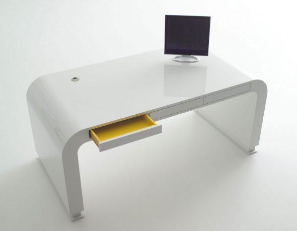 Signalement Open Drawer Computer Desk