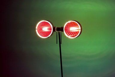 Wonderful Occhio Sento Terra Floor Lamp