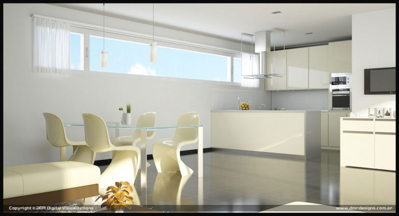 Amazing White Themed Dining Room Design Ideas