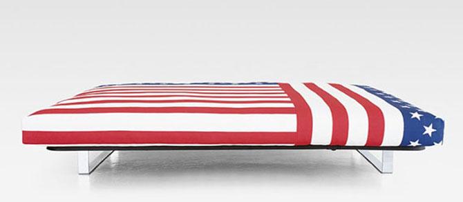 Awesome American Flag Sofa Bed Furniture