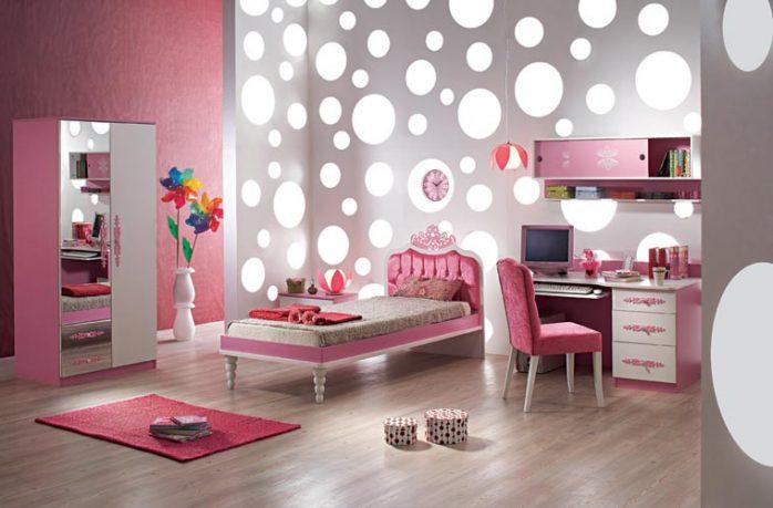 Beautiful Pink Funiture Sets