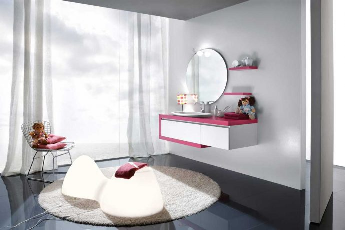 Best Beautiful and charming Girls Bathroom