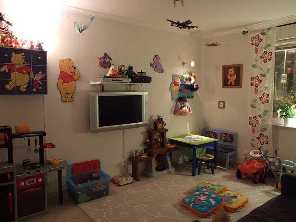 Children Living Room Tv Setup
