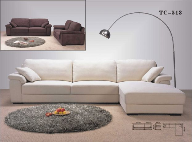 Contemporary Modern Sectional Sofa