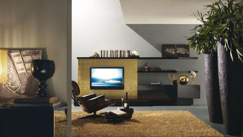 Contemporary Tropical Italia Living Room