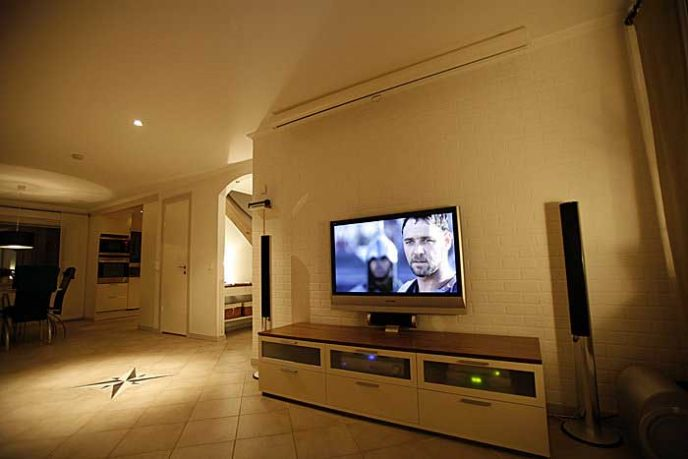 Drawing Living Room Tv Setup