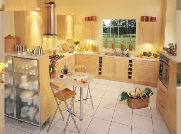 Exeter Yellow Kitchen Decoration Ideas