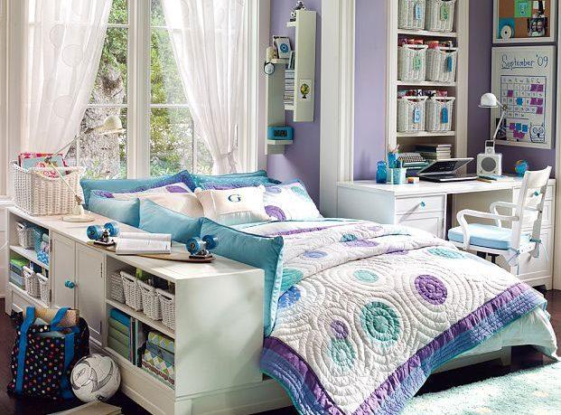 Exotic Purple Dorm Room 2011