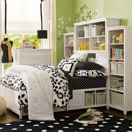 Fresh Green Dorm Room 2011