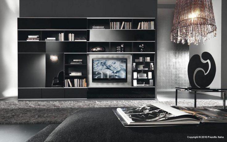Glamorous Chandelier in Living Room