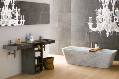 Luxury Bathrooms from Neutra With Candle Candlier