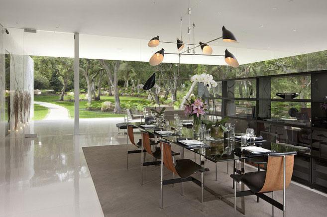Luxury Dining Transparent Walls Glass Pavilion