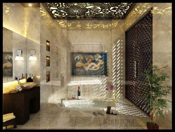 Luxury Lathroom by Athaliasovie