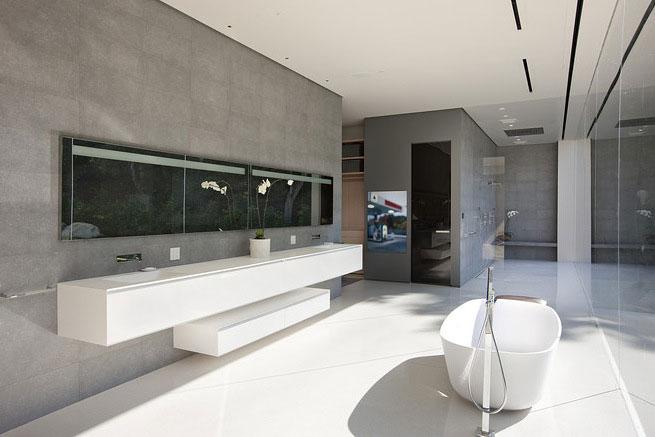 Luxury Master Bathroom Glass Pavilion