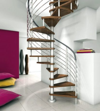 Marvelous Spiral Stairs Design Ideas