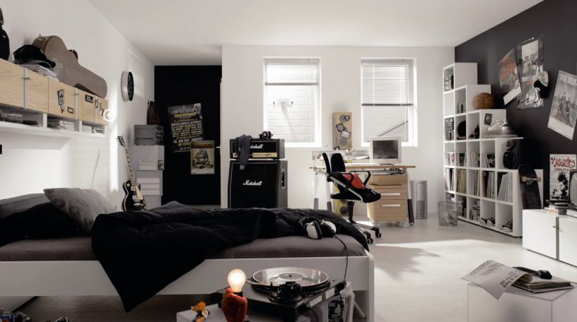 Mini Studio Music Trendy Teen Bedroom Design