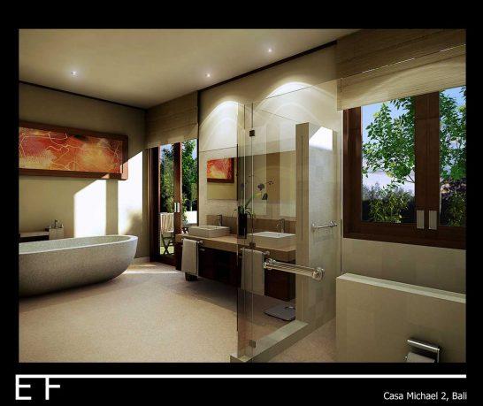 Minimalist Casa Michael Bathroom Bali Design