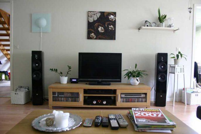 Minimalist and Marvelous Living Room Tv Setup