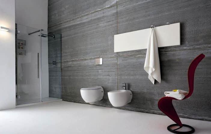 Modern Bathroom Designs Ideas With Unique Chair from Rexa