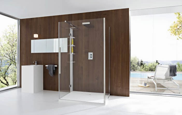 Modern Bathroom with Wooden Wall Designs Ideas from Rexa