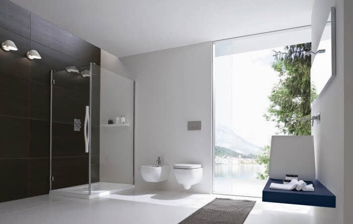 Simple and Minimalist Modern Bathroom Designs Ideas from Rexa