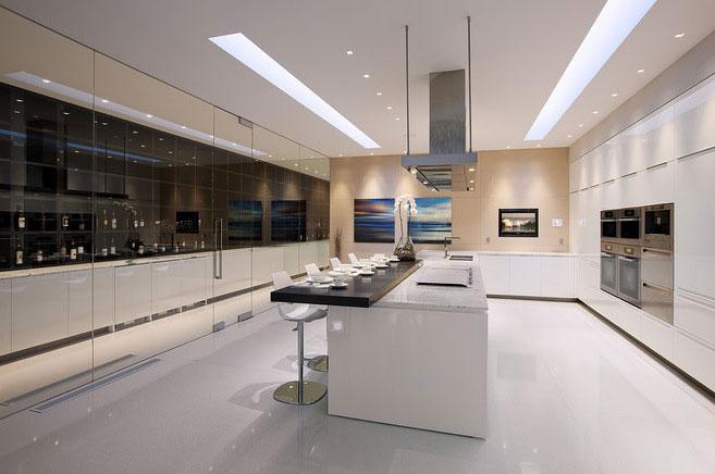 Super Luxury Kitchen Glass Pavilion