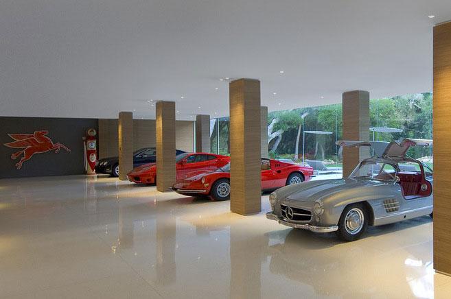 Vintage Car Collection Glass Pavilion