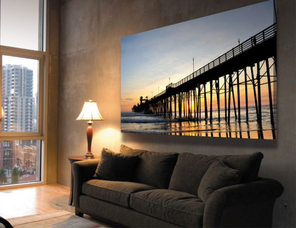 Awesome Sunset Wall Poster Design