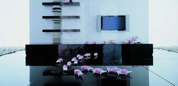 Charming Wall Unit Design by Momentoitalia