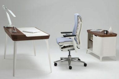 Futuristic Study Desk with Mac desk Inspiration