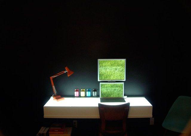 Mac Colourful Desk Workspace Design 2011