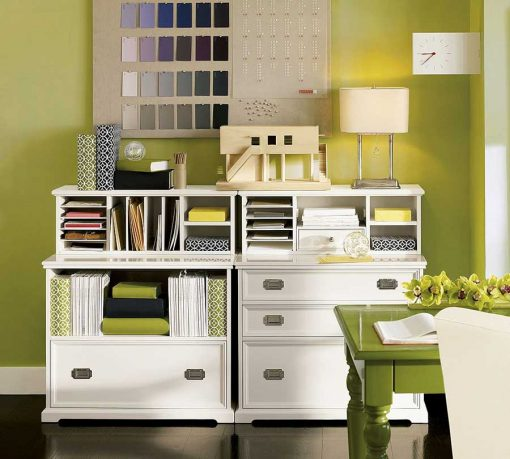 Minimalist Green Home Storage Systems