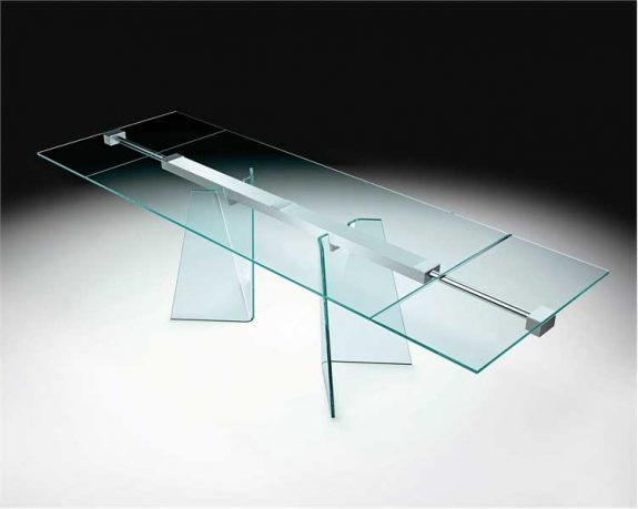 Modern Full Glass Table Design Ideas