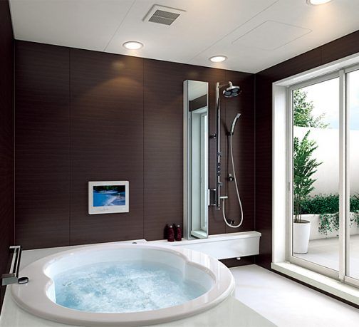 Modern Small Bathroom 2011 by TOTO