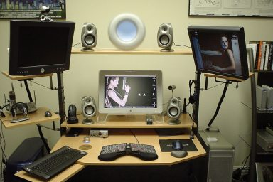 Multimedia Computer Setup Inspirations