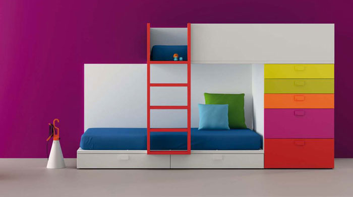 Colorful Kids and Baby Room Design Ideas