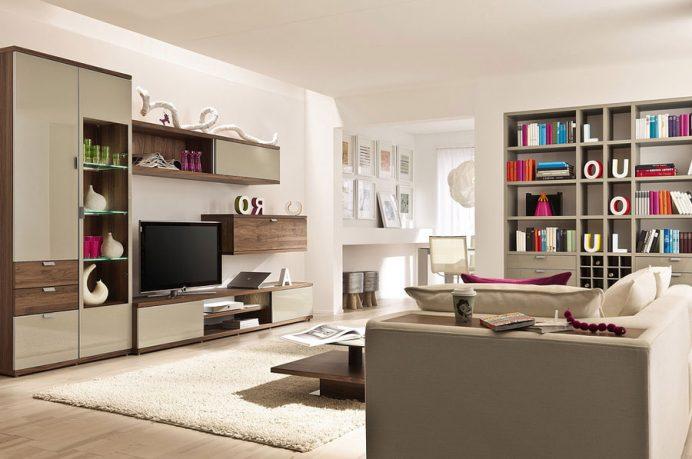 Pop Out Color Living Room Artful Lighting Scheme