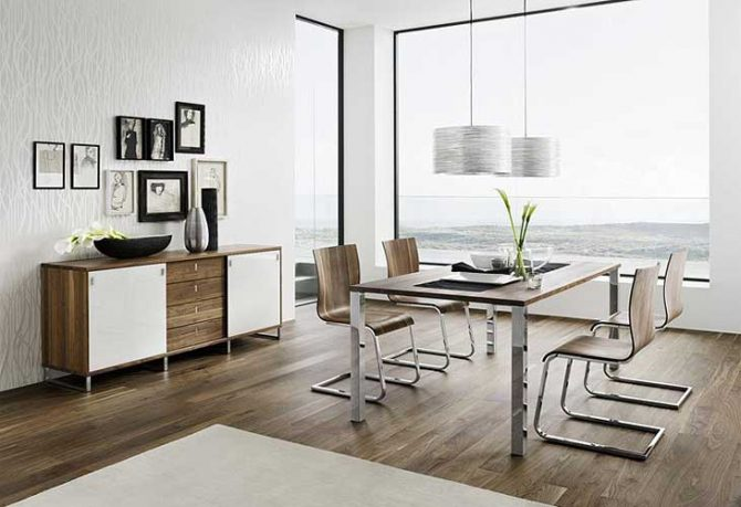 Team 7 Cool Dining Set Window Focal Point