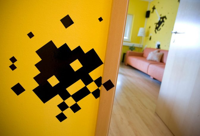 Unique Video Game Pacman Wall Decor