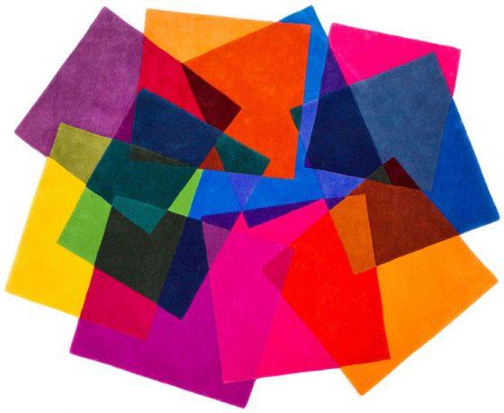 Colorful Rugs Tile Design Ideas