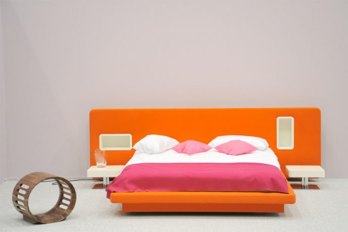 Cool Ambient Low Pad Bed Design Ideas
