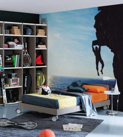 Cool Wall Sticker Teen Room Design